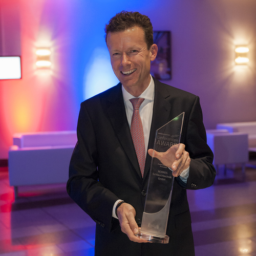 NORRES recieves the NORDWEST Supplier Award