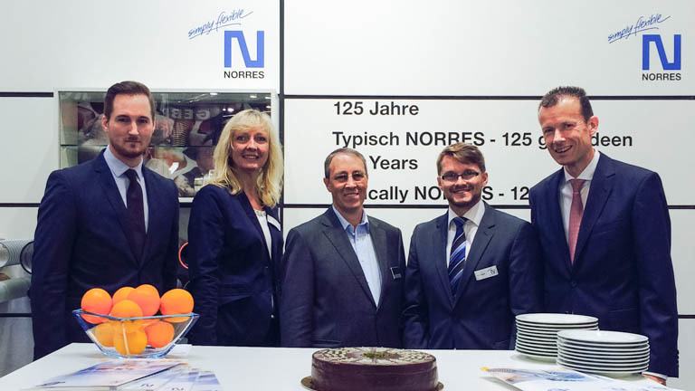 NORRES successfully concludes POWTECH 2014