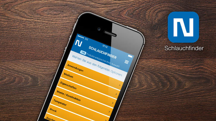 NORRES hosefinder now available as mobile web app
