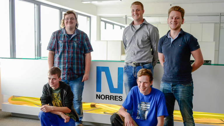 NORRES Group trains new specialists