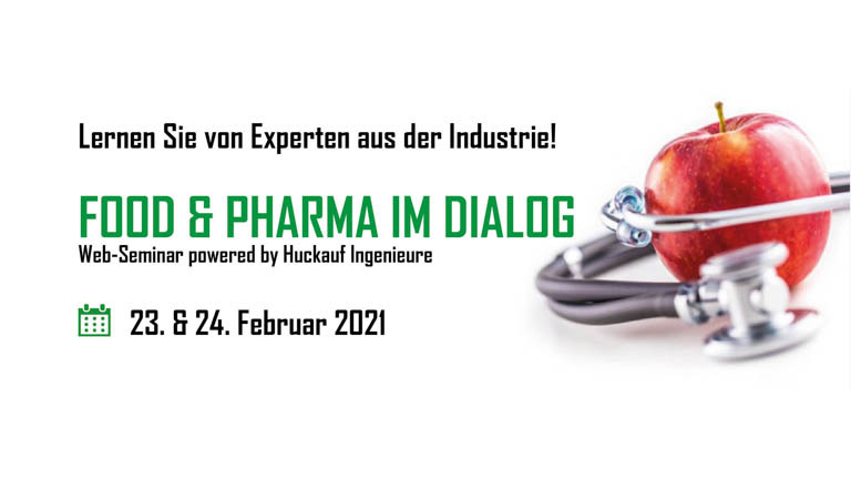 "Web-Seminar ""Food & Pharma im Dialog"""